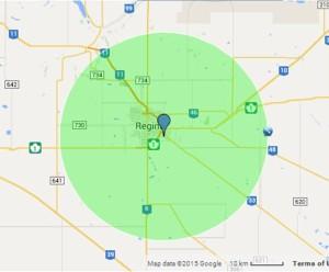 30km-radius