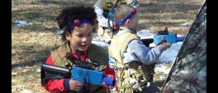 Our Mobile Laser Tag is a BLAST!