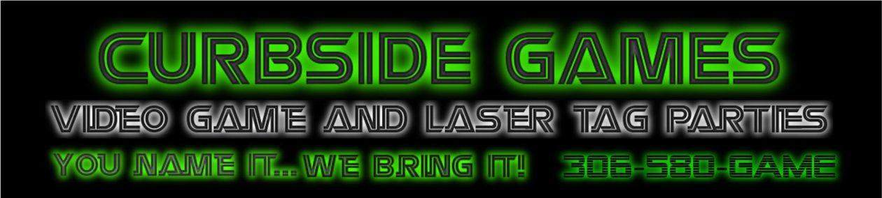 Curbside Games – Regina & Southern Saskatchewan – Video Game Truck & Laser Tag Parties – Birthdays & More!